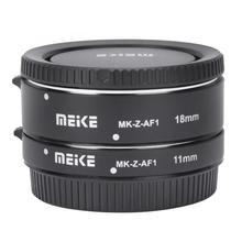 Meike MK Z AF1Auto se Tubo de extensión Macro 11mm 18mm Close‑shot anillo adaptador para Nikon Z montaje Z6 Z7 Z8 Z50 adaptador de lente
