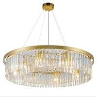 Modern Crystal Chandelier Round Crystal Chandelier Gold Crystal Chandelier Hanging Light For Home Hotel Restaurant Decoration