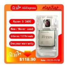 AMD Ryzen 5 2600 R5 2600 3.4 GHz Six Core Twelve Thread CPU Processor YD2600BBM6IAF Socket AM4