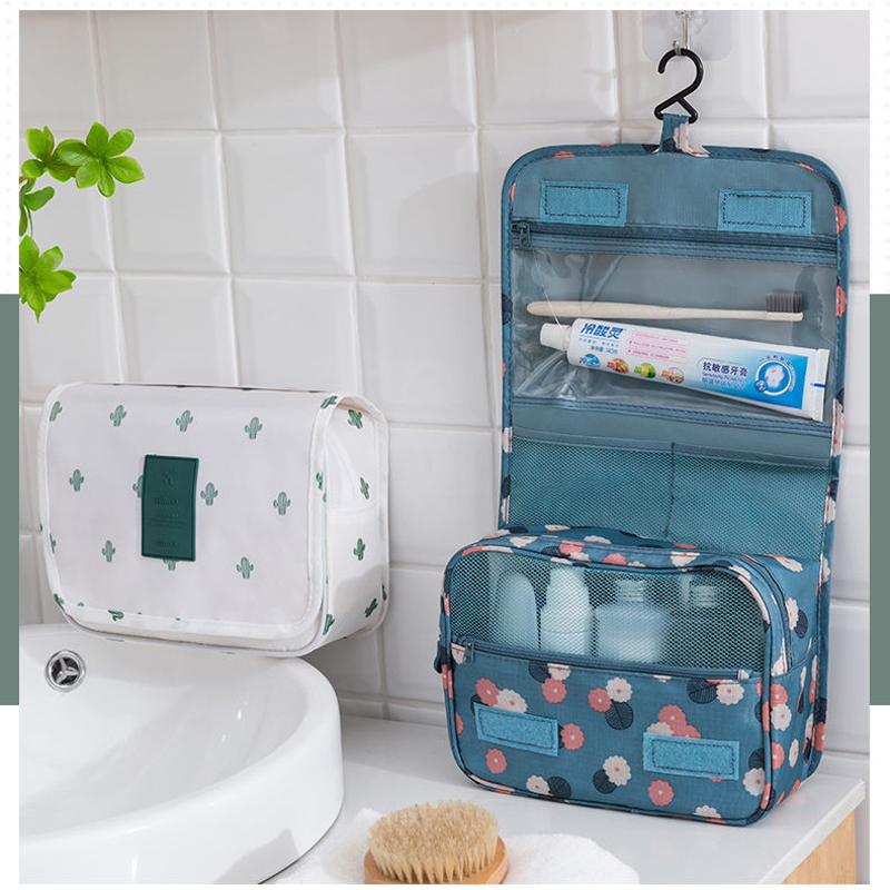 Multifunction Hanging Travel Cosmetic Bag Make Up Bag Waterproof Large Travel Beauty Makeup Bag Personal Hygiene Bag Organizer