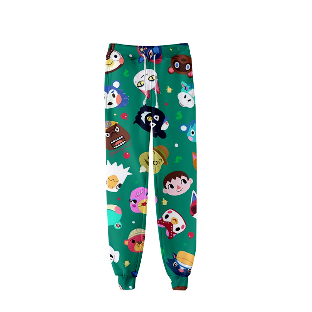 Men's Pants Animal Crossing Trousers 2020 Hip Hop Custom 3D Harajuku Animal Crossing:Pocket Camp Mens Joggers Sweatpants Autumn