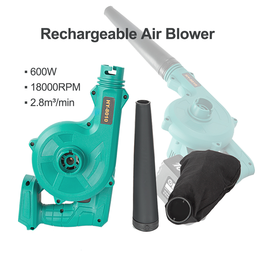 Tools : Abeden 18V Cordless Blower Vacuum Clean Air Blower for Dust Blowing Dust Computer Collector Hand Operat Power Tool No Battery