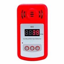 Abkt-новое поступление портативный мини детектор горючего газа анализатор утечки газа Тестер со звуком и светильник сигнализация утечки газа