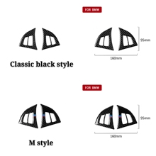 Car Styling Steering Wheel Buttons carbon fiber 3D car Stickers M stripe emblem decals For BMW X5/6E70 E71 2008-2013 accessories цена 2017