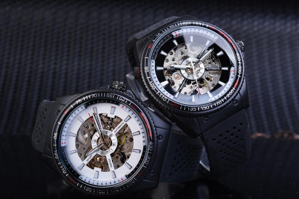 Ha1330de26cd54f1694f494c00e12da79J Forsining 2016 Rotating Bezel Sport Design Silicone Band Men Watches Top Brand Luxury Automatic Black Fashion Casual Watch Clock