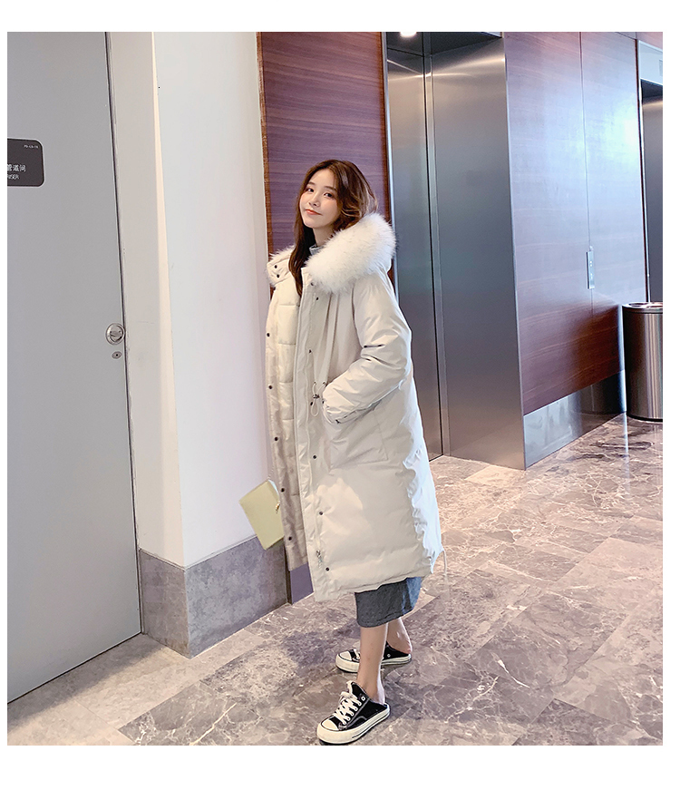female Long Cotton Jacket 13