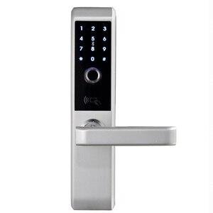 Image 2 - LACHCO 2020 Biometric Fingerprint Electronic Smart Door Lock, Code, Card,Touch Screen Digital Password Lock Key for home Ak18A3F