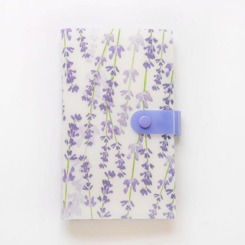 240-Slots Id-Holders Card-Book Book-Card Stocks Collection Cute 4-Colors Clip-Ticket