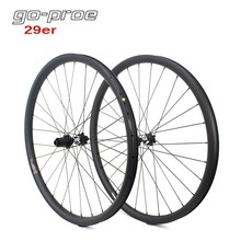 Go-proe DT Swiss 350 Hub 29er MTB Carbon Wheel 33mm Width For Cross Country And All Mountain Bike Wheelset QR Or Boost elite dt swiss 240 series mtb wheelset 40mm width 32mm depth carbon fiber rim for 29er am dh enduro mountain bike wheel