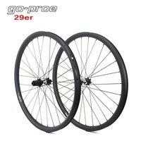 Go proe DT Swiss 350 Hub 29er MTB Carbon Wheel 33mm Width For Cross Country And All Mountain Bike Wheelset QR Or Boost