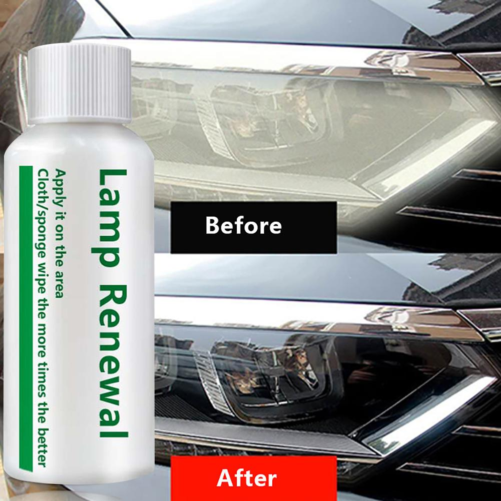 50ml Car Headlight Repair Liquid Lamp Auto Repair Retreaded Agent Lighting Auto Restoration