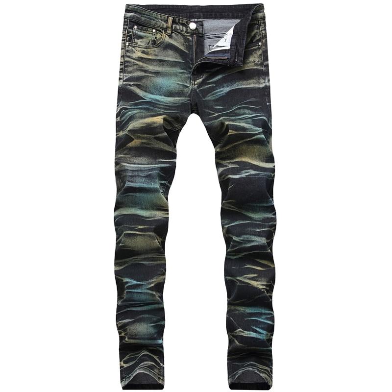 2019 New Fashion Vintage Mens Denim Jeans Classics Jeans Slim Mens Designer Jeans Pants Clothing Plus Size Male Trousers,1922
