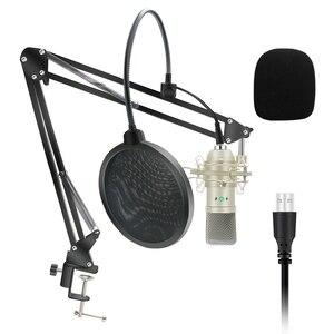 Image 1 - Kit de Microphone à condensateur USB Microphone karaoké micro de Studio pour ordinateur diffusion en direct enregistrement de chat en ligne