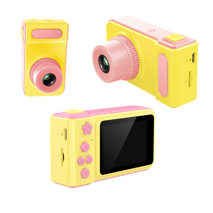 Children's Digital Camera Photo Video Camera Toys For Kids Birthday Gift Children Toy Cameras 12MP HD 2.0 Inch 1080P