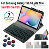 Keyboard Case for Samsung Galaxy Tab S6 Lite SM-P610 SM-P615 10.4 inch Tablet Cover Backlit Bluetooth Keyboard for P610 P615