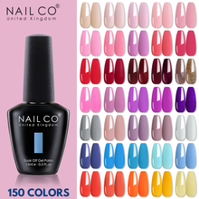 NAILCO 150 colors serie Gel polish for Manicure gel nails art Gel for extension semi-permanent Base and top coat for gel varnish