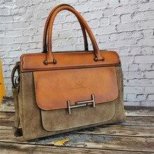 Classic Women's Leather Luxury Bag Designer Handbag Vintage Totes Ladies Shoulder Hand Bags for Women 2020 Large Capacity Purse