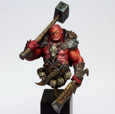 1/10   Ancient Man Warrior With Sword Bust (NO BASE ) Resin Figure Model Kits Miniature Gk Unassembly Unpainted