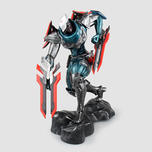 Action figure LOL game Fiora Laurent  23cm PVC The Purifier ACGN Brinquedos Toys cartoon Dolls Collectible Model Anime