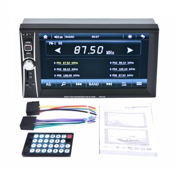 7653TM 6.6 Inch Car Radio MP5 Player Touch Screen Bluetooth Phone Link Smart Phone Stereo Radio Player