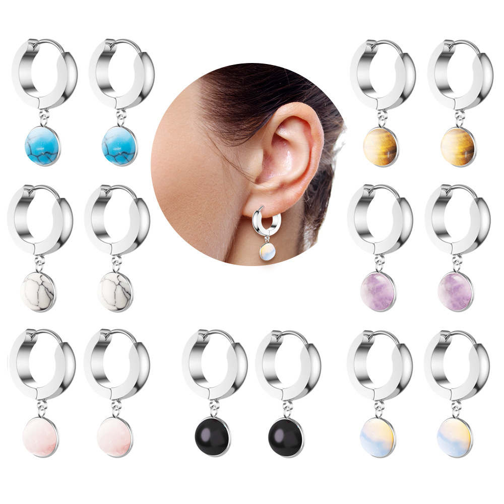 Stainless steel  earrings perfect gift for her