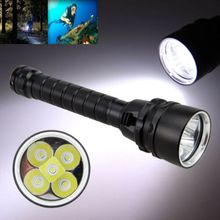 Underwater Diving Torch Light Flashlight Glare Long-range Outdoor Riding LED