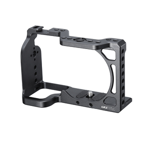 Image 5 - UURig Vlog Camera Cage for Sony A6600 with 1/4 3/8 Thread Hole to LED Light Aluminum Protective Cage to Microphone W Top Handle