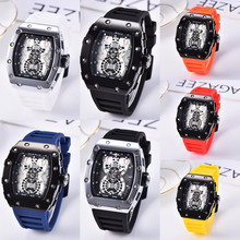 2020 silicone man Chronograph Mens Watches Luxury Top Brand