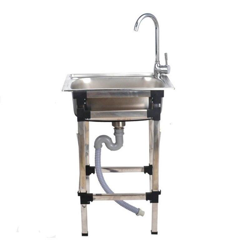 Lavandino Portatil Waschbecken Lavello Cucina Evier De Cuisine Wasbak Kitchen Lavabo Cuba Pia Cozinha Fregadero Dishwash Sink-in Kitchen Sinks from Home Improvement    2