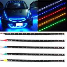 LED Light Strip Waterproof 30CM LED Car Light with Car Light Motorcycle Decoration Colorful Atmosphere Light Atmosphere Light Ba