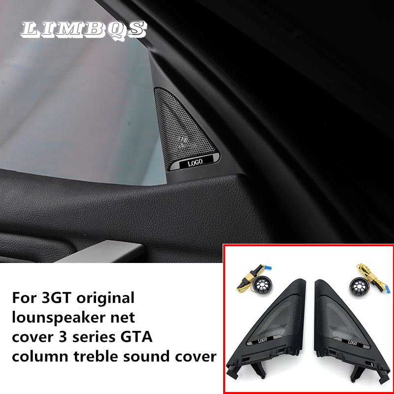 Araba yan kapı tweeter için f34 BMW 3GT ses trompet kafa kapı tiz hoparlörler ABS malzeme orijinal kalite kolay kurulum