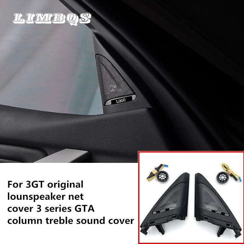 Auto zijdeur tweeters voor f34 BMW 3GT audio trompet hoofd deur treble speakers ABS materiaal originele kwaliteit eenvoudige installatie
