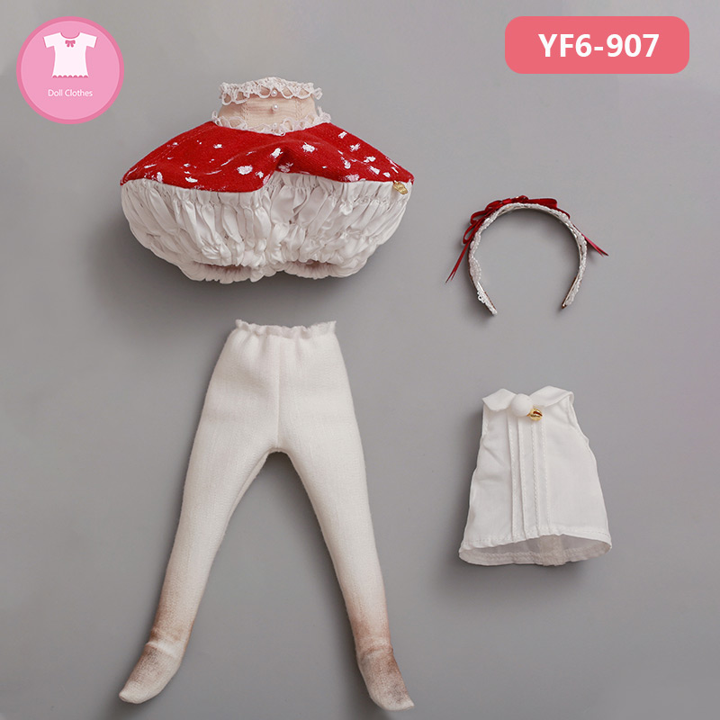 BJD Clothes 1/6 Yaho body and Coti girl body YOSD BJD SD Dress Beautiful Doll Outfit Accessories luodoll 1
