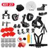 Selfie Stick For GoPro hero 7 6 5 4 3  Action Sport Camera Go Pro Accessories Kit For SJCAM Xiaomi Yi 4k mijia Storage Bag Case discount