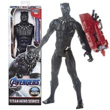 Action-Figure Launcher Titan Avengers Marvel Power-Fx Hero-Series Black Panther Endgame