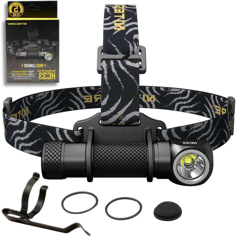 SALE 2020 NITECORE HC33 Headlamp 1800 Lumen CREE XHP35 HD LED Waterproof Flashlight Outdoor Camping Travel Hunting Free Shipping