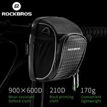 Bike-Handlebar-Bag Bike-Accessories Bicycle Top-Tube-Bag Rain-Cover Folding Bike Rockbros