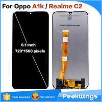 6,1 zoll Für Oppo A1k CPH1923 LCD Display Mit Touch Screen Für Für Oppo Realme C2 RMX1941 RMX1945 LCD display