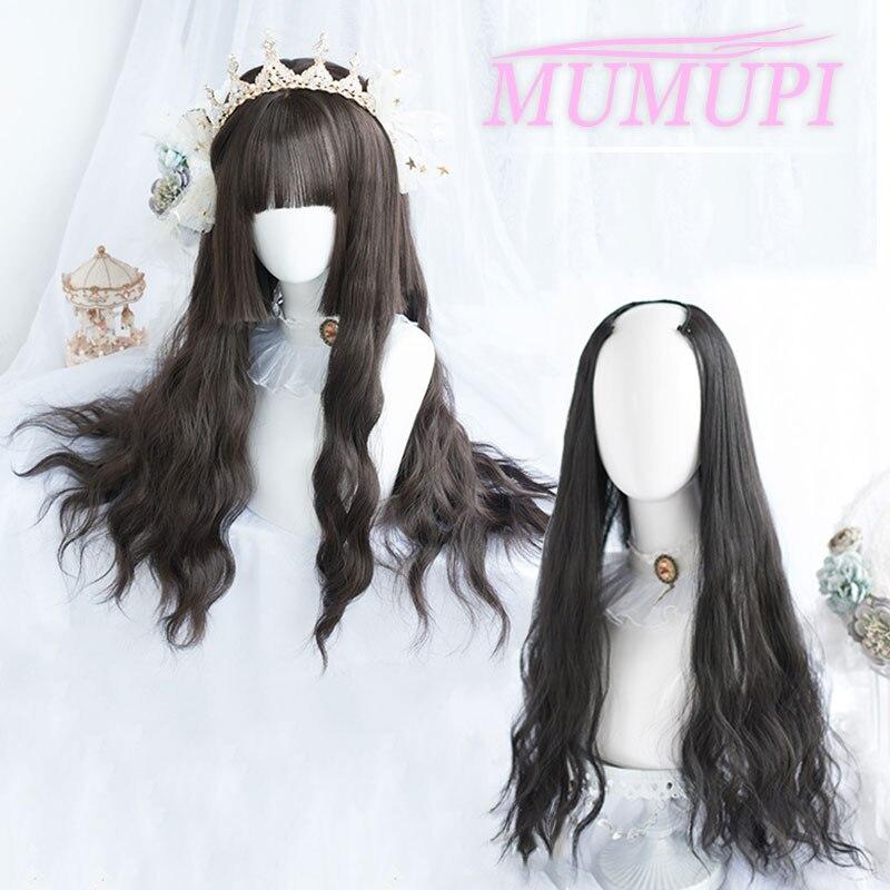 Синтетические длинные черные волнистые человеческие волосы для наращивания для женщин 24