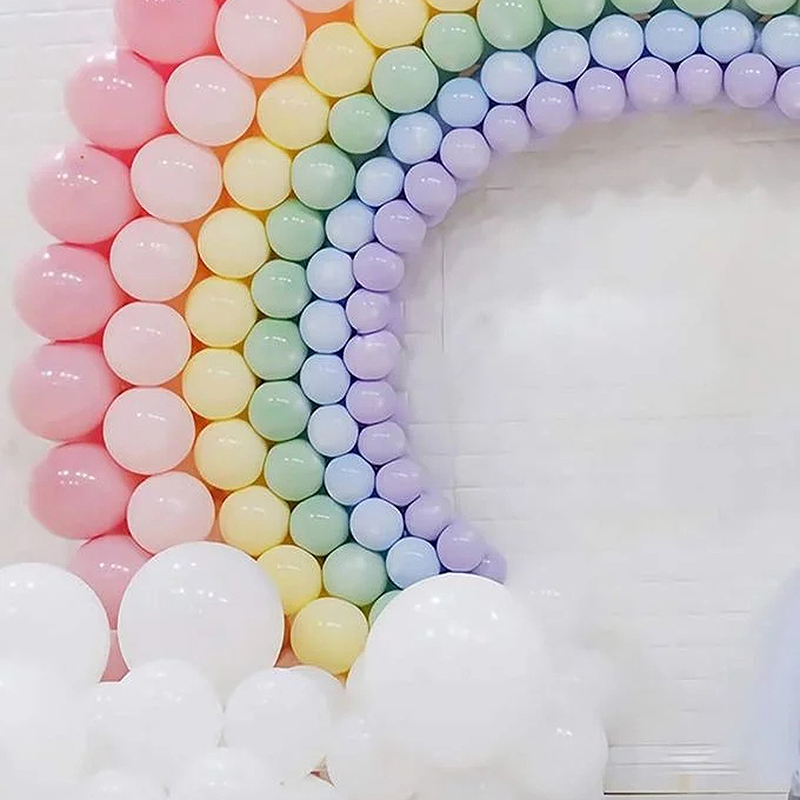 5/10/12/18/36inch Macaron Pastel Latex Baloons Birthday Decoratios Girl Baby Shower Decoration Anniversaire Wholesale Balloons