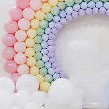 5/10/12/18/36 polegada macaron pastel látex baloons aniversário decoratios decoração do chuveiro do bebê por atacado balões