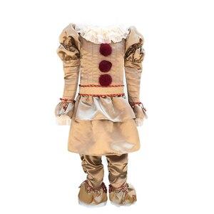Image 5 - Kinderen Joker Pennywise Cosplay Kostuum Masker Stephen King Het Hoofdstuk Twee 2 Horror Clown Halloween Party Aanbod