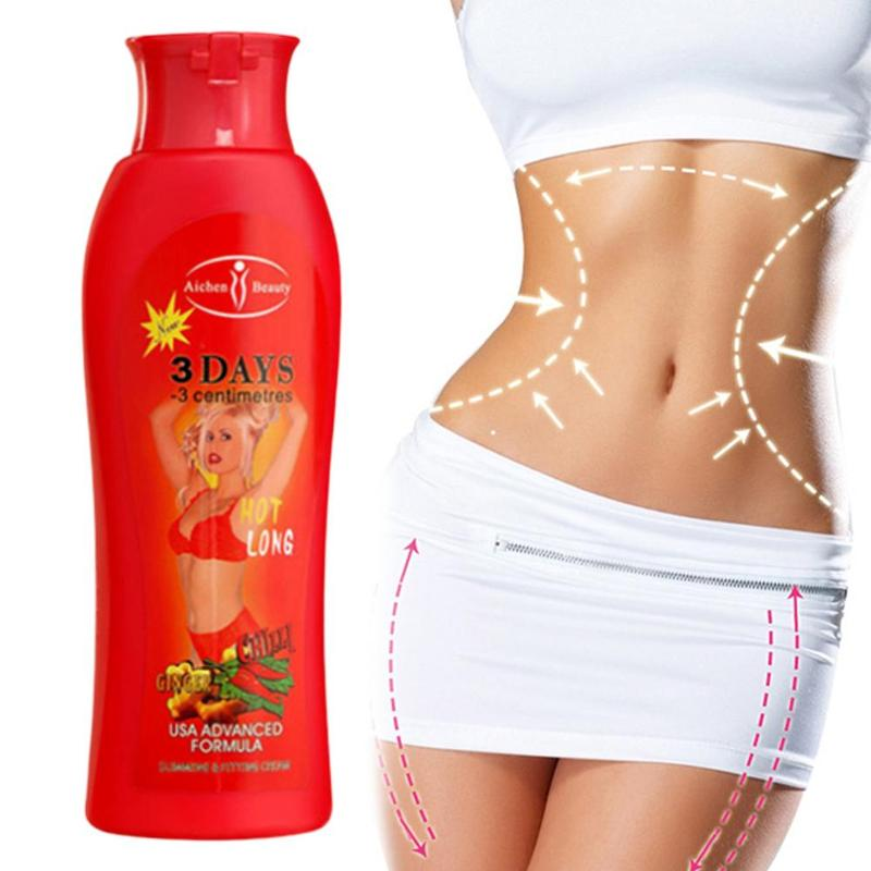 200ml Fat Burning Slimming Cream Ginger Body Cream Belly Slimming Gel Fitness Fat Burner Fast Weight Loss Anti-cellulite Cream