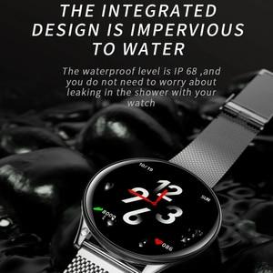 Image 4 - Epopoos smart watch 2020強化ガラスタッチスクリーンフィットネススマートウォッチIP68防水心拍数血圧smart watch es