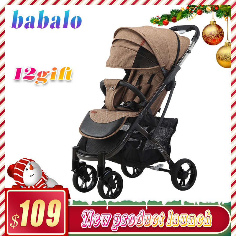 Babalo (YOYA PLUS 3 YOYA PLUS 2019) New style baby stroller light folding umbrella car can sit Baby carriage|Lightweight Stroller| |  - title=