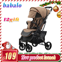 Babalo (yoya plus 3 yoya plus 2019) novo estilo carrinho de bebê luz dobrável guarda chuva carro pode sentar carrinho de bebê|Carrinho para bebê leve| |  -