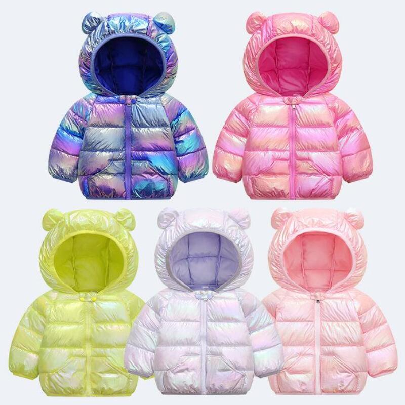 Baby Girls Jacket 2020 Autumn Jacket For Girls Coat Winter Kids Warm Hooded Outerwear Children Clothes Infant Girls Coat 1