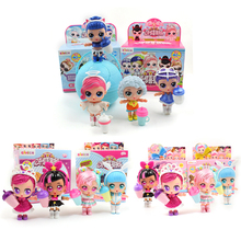 Eaki Original Box DIY Kids for Toy Lol DOLL Surprises with Puzzle Model Toys Girl Child Birthday New Year Gifts Funny Ball