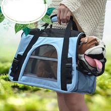 Foldable Pet Carrier Handbag For Puppy Dog Cat Outdoor Travel Shoulder Bag for Small Pets Soft Kennel