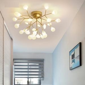 Image 2 - Lámpara Led De araña para Techo, iluminación moderna, lámparas De Techo, luminaria De suspensión, AC110V/220V